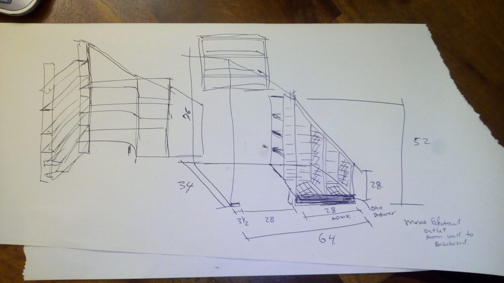 pantry and winerack sketch-idea
